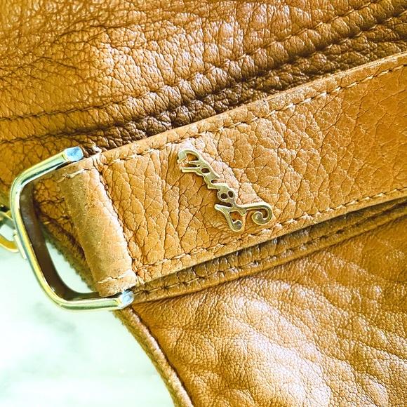 Fendi Handbags - Fendi 'Spy Bag' Brown Leather